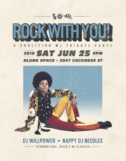 Rock With You! A Soulition MJ Tribute Party